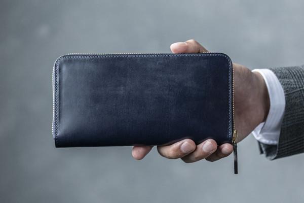 Bridle Leather ブライドルレザー ラウンドファスナー長財布